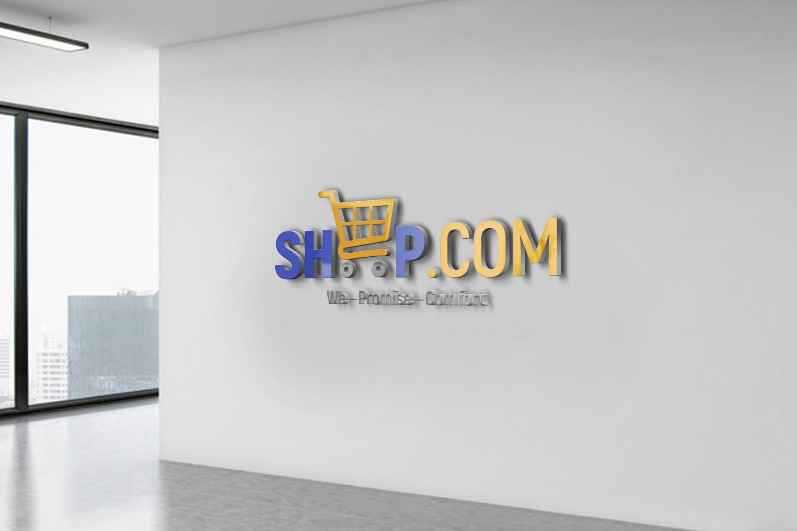 Free Logo Design Template for Online Store Free Download