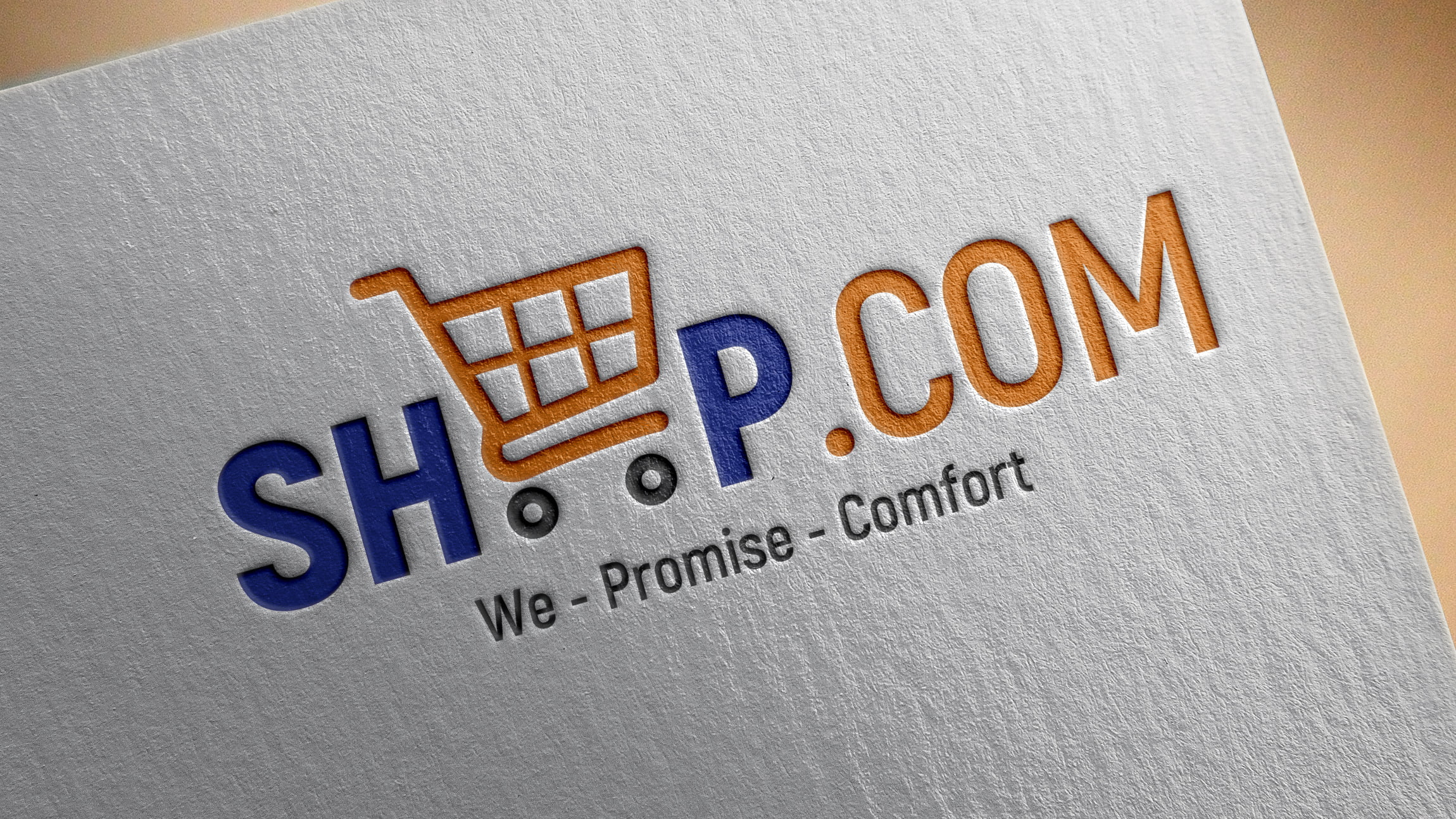Free Logo Design Template for Online Store PSD source