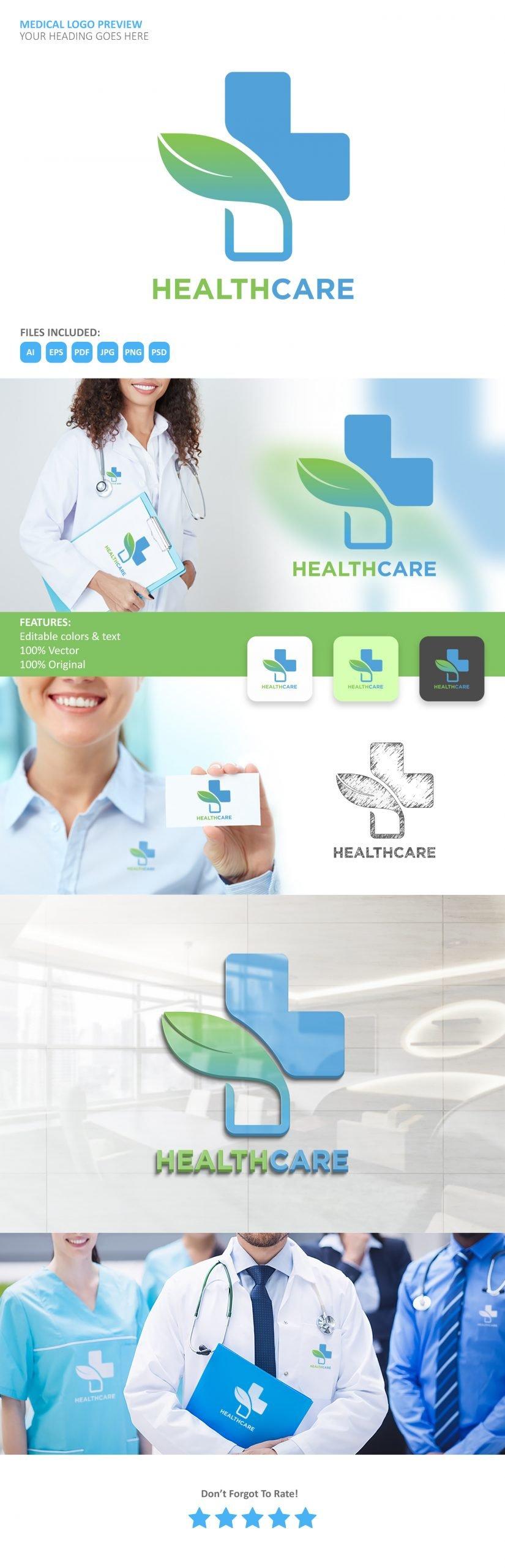 Free Medical Logo Thumbnail Generator