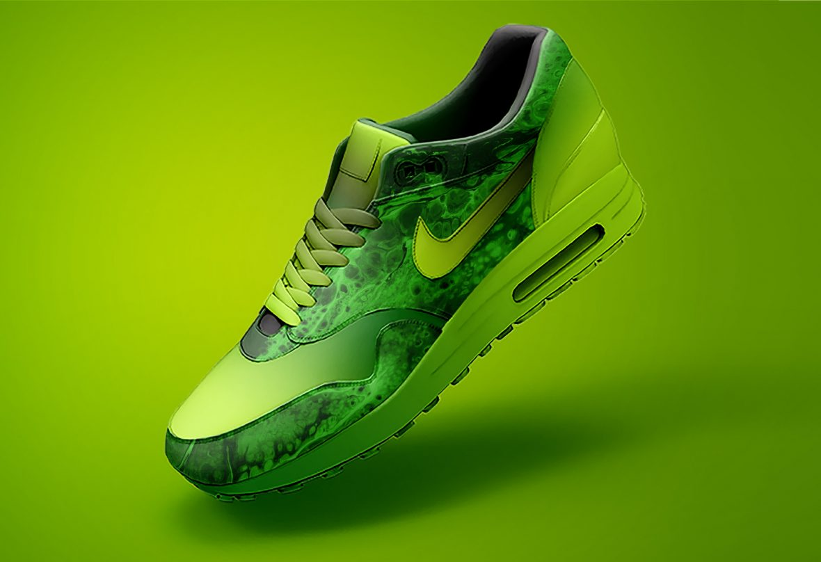 Free Nike Air Max Shoe Mockup by GraphicsFamily