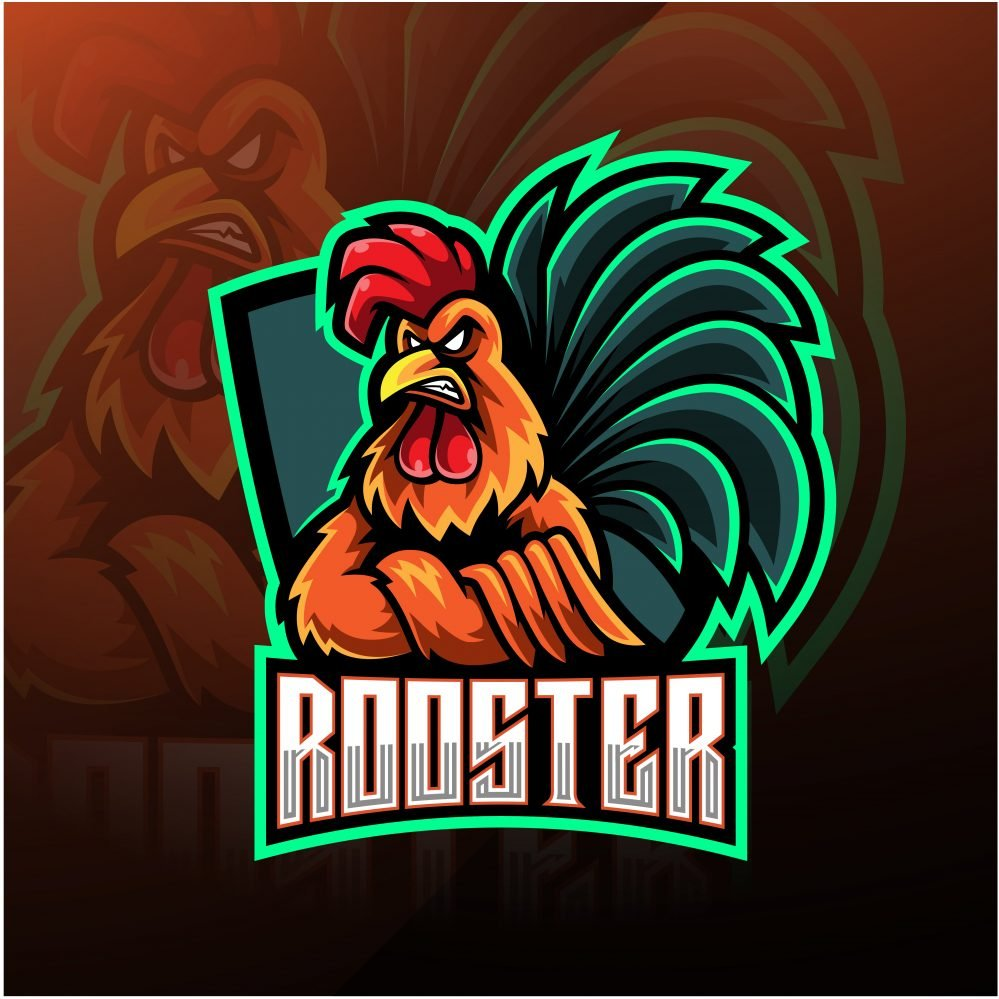 Free Rooster Mascot Logo