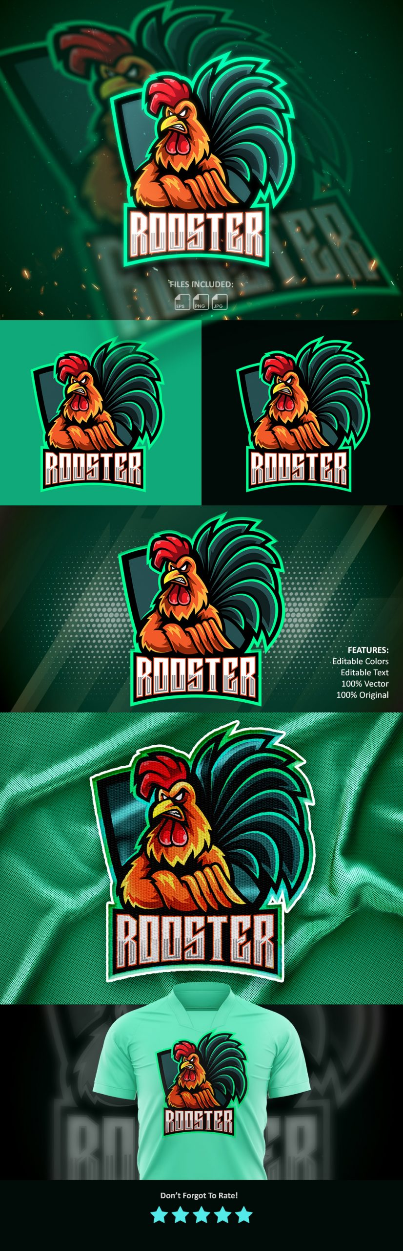 Free-Rooster-Mascot-Logo-Free-Download