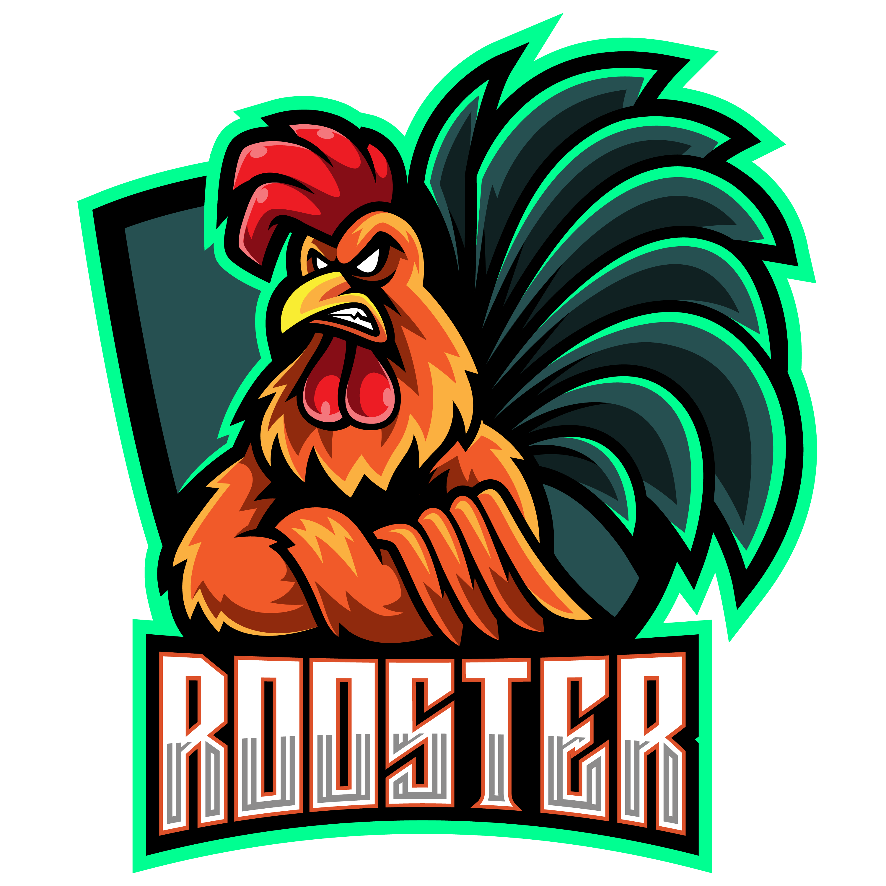 Free-Rooster-Mascot-Logo-PNG-Transparent