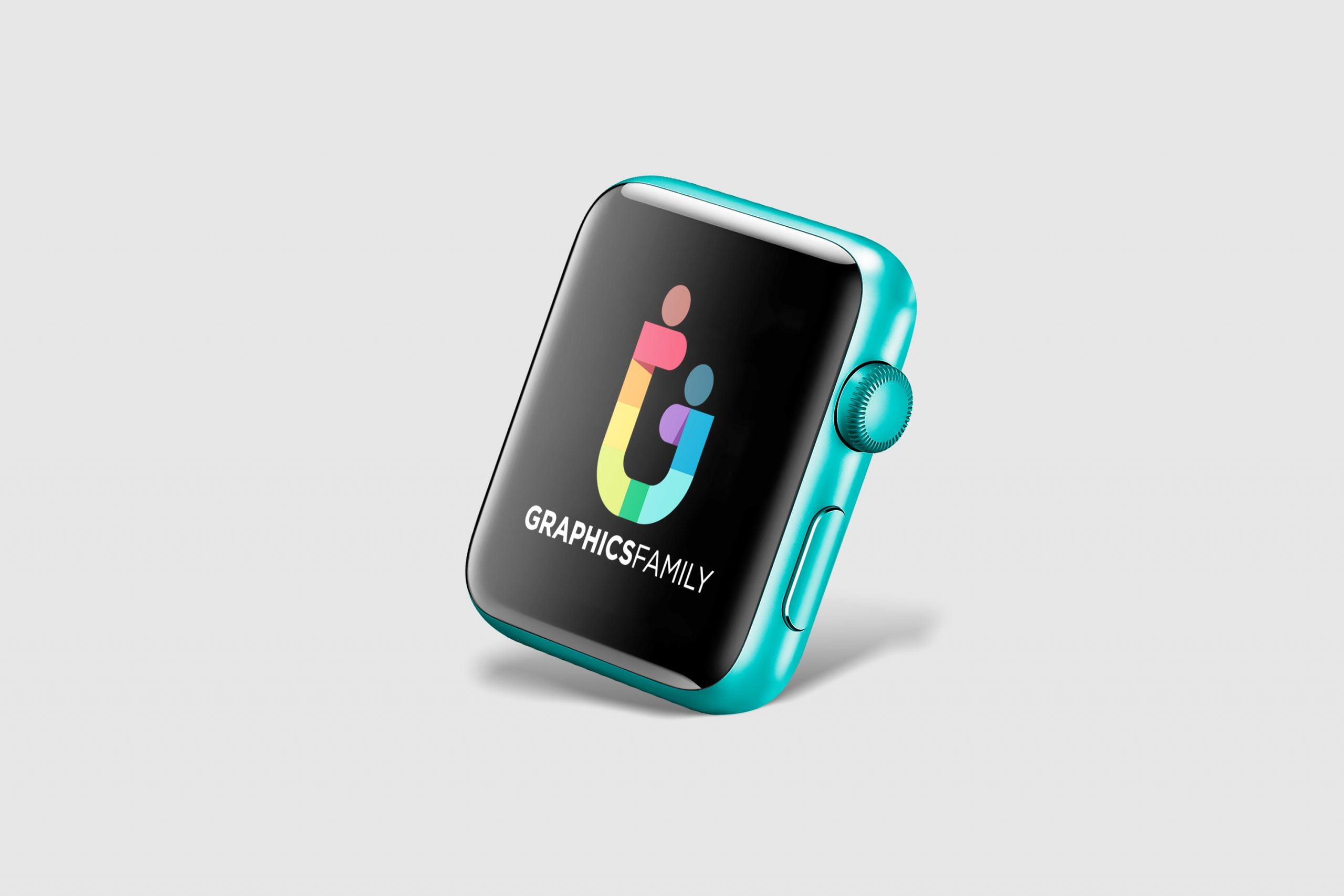 Free Smart Watch Face Mockup