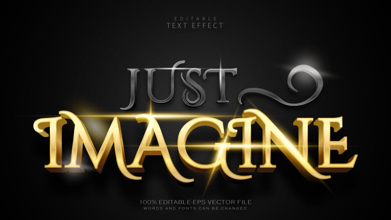 Free-Vector-EPS-Luxury-Black-and-Gold-Editable-Text-Effect