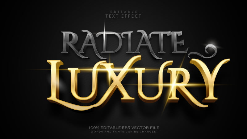 Free-Vector-Luxury-Black-and-Gold-Editable-Text-Effect