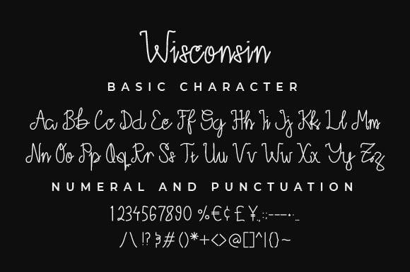 Free Wisconsin Monoline Script Font Download