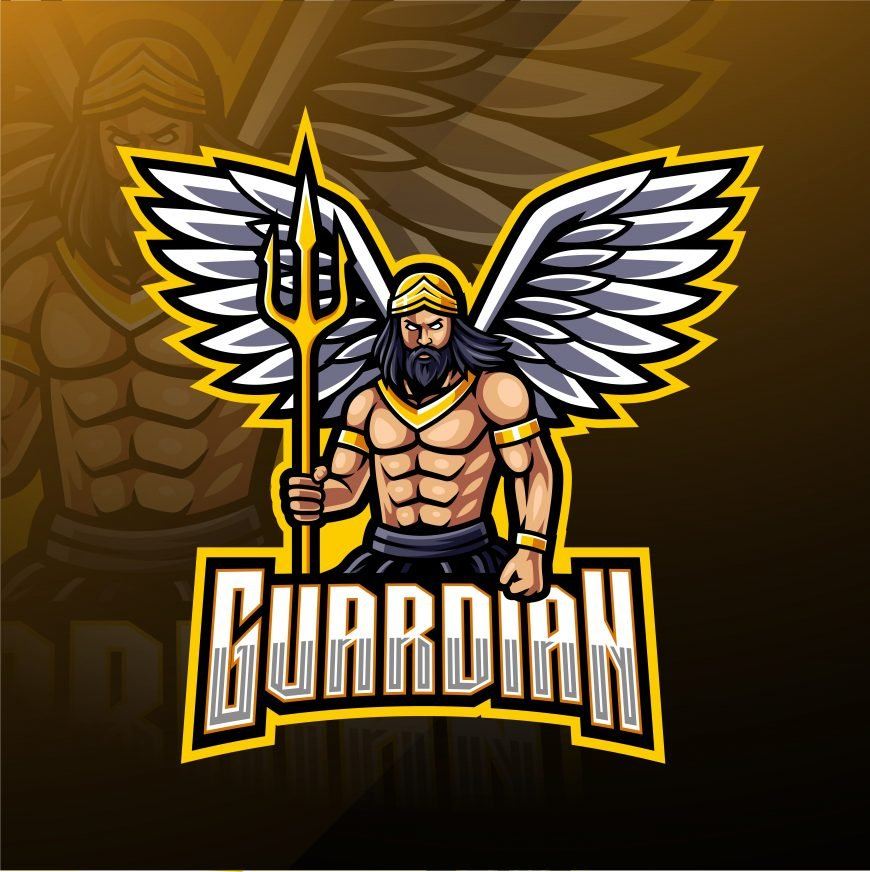 Guardians Esports Gaming Clan Mascot Logo