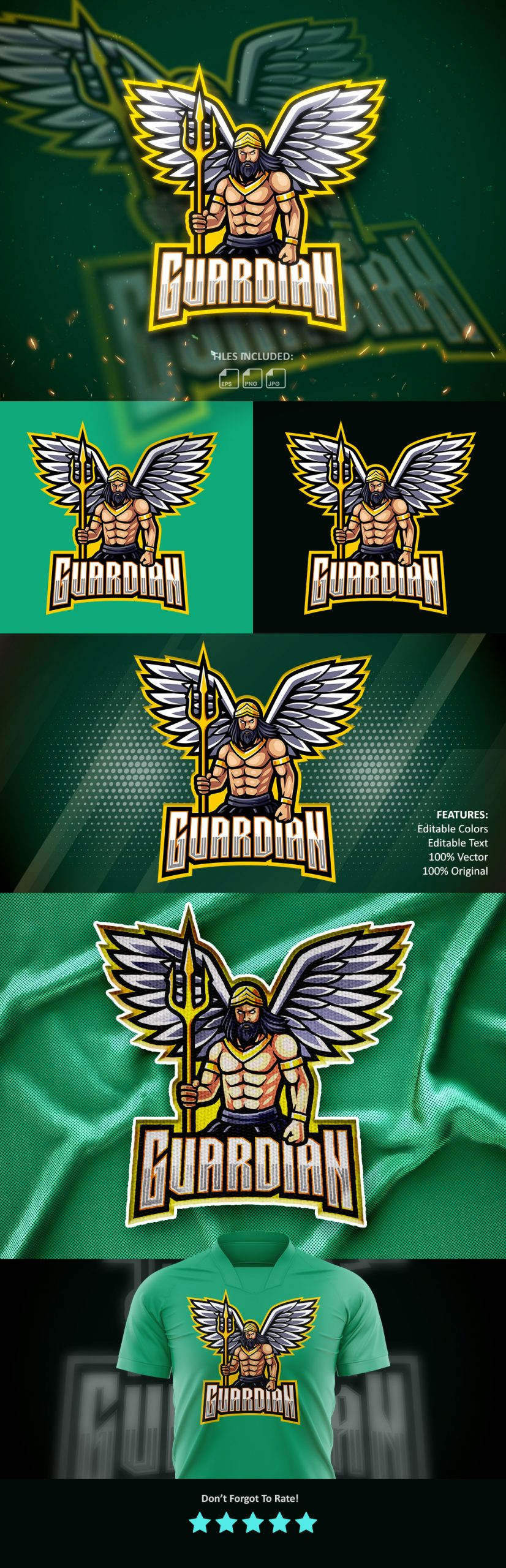 Guardians-Esports-Gaming-Clan-Mascot-Logo-Free-Download-