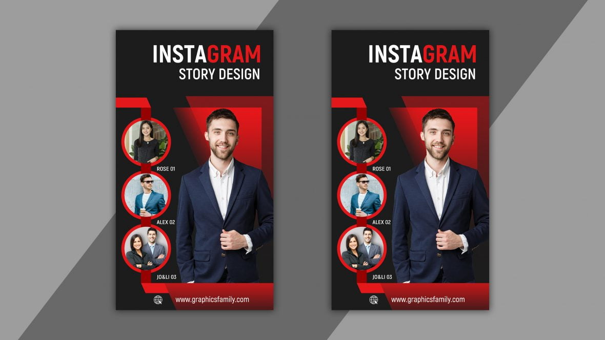 Instagram Stories Template for Business