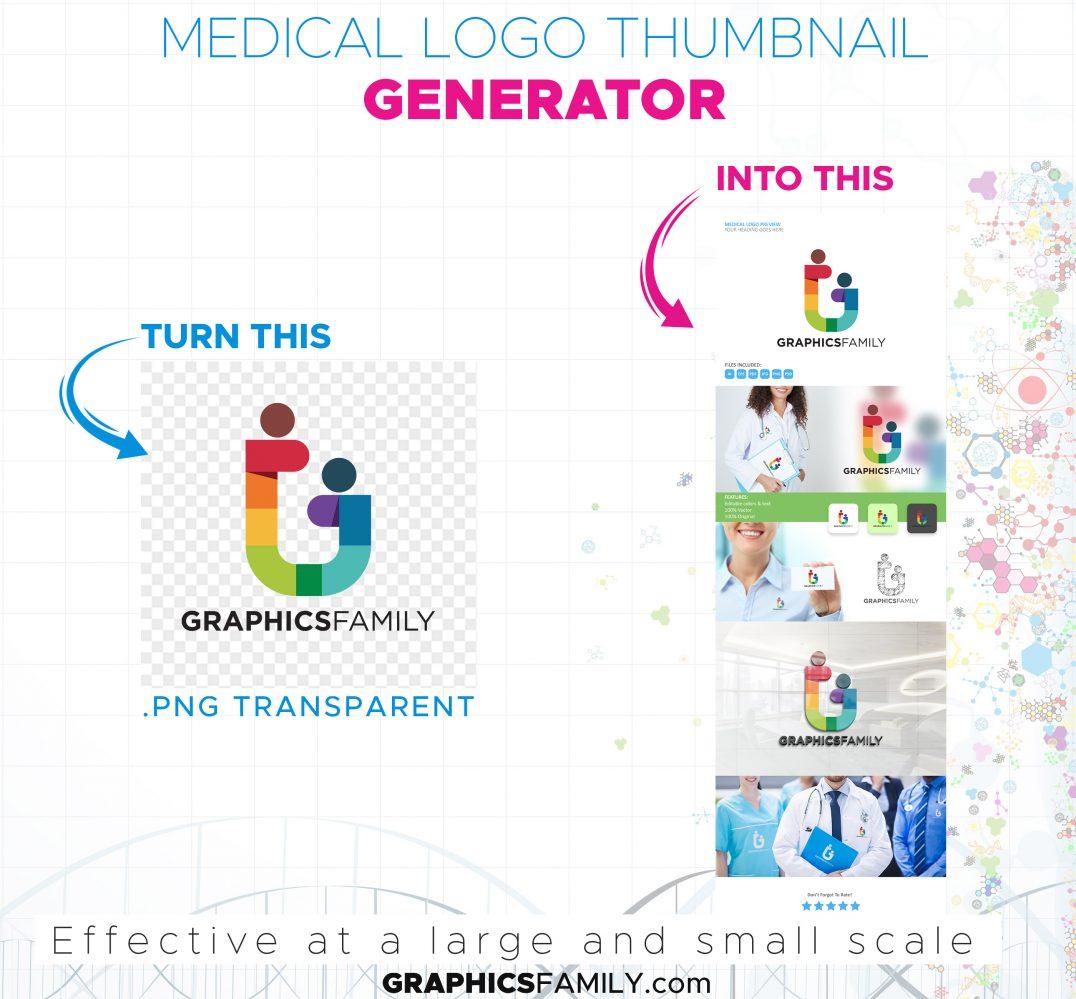 Medical-Logo-Thumbnail-Generator