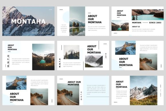 Montaha-Nature-Presentation for PowerPoint Download