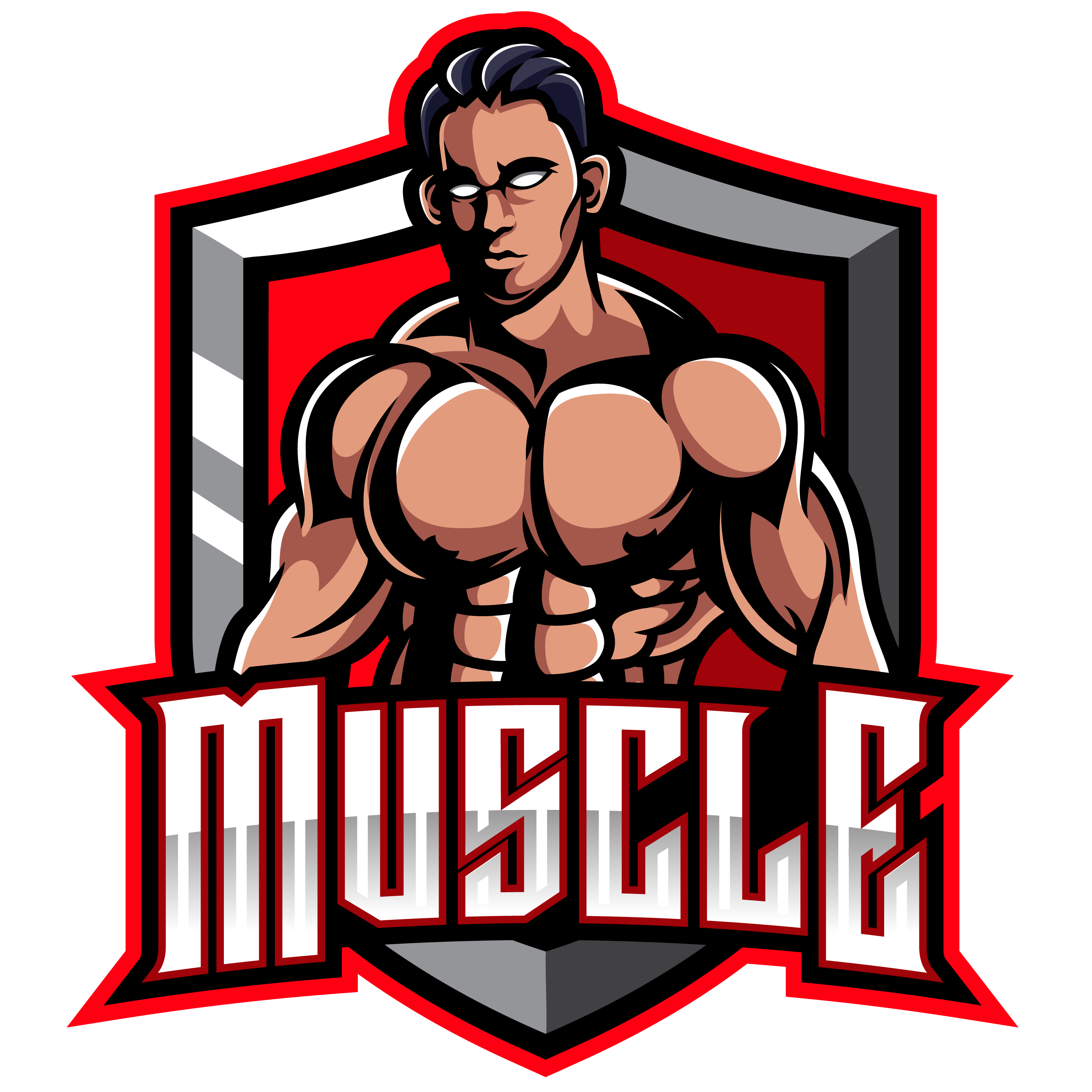 Muscle-Fighter-Esports-Mascot-Logo-PNG-transparent