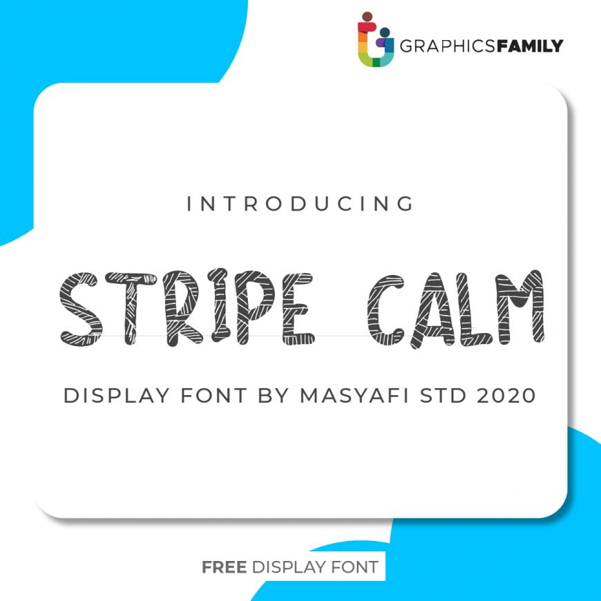 STRIPE CALM Font