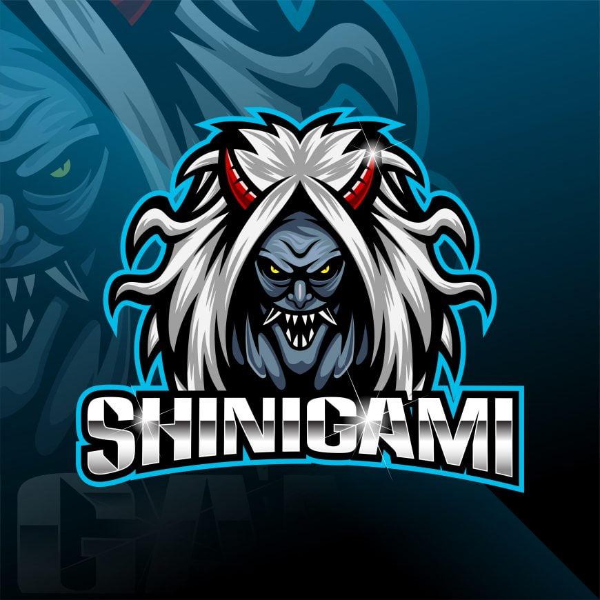 Shinigami Mascot Logo