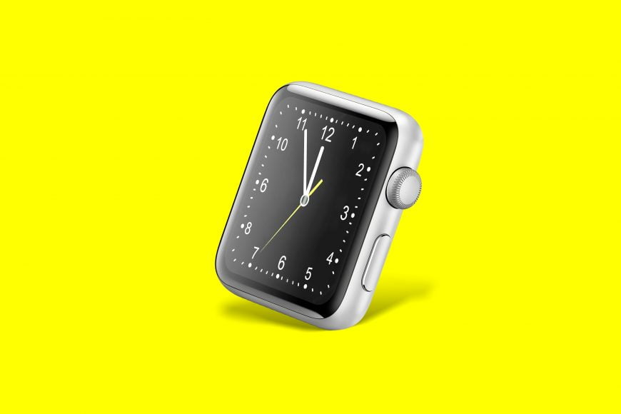 Smart Watch Face Mockup Free Download