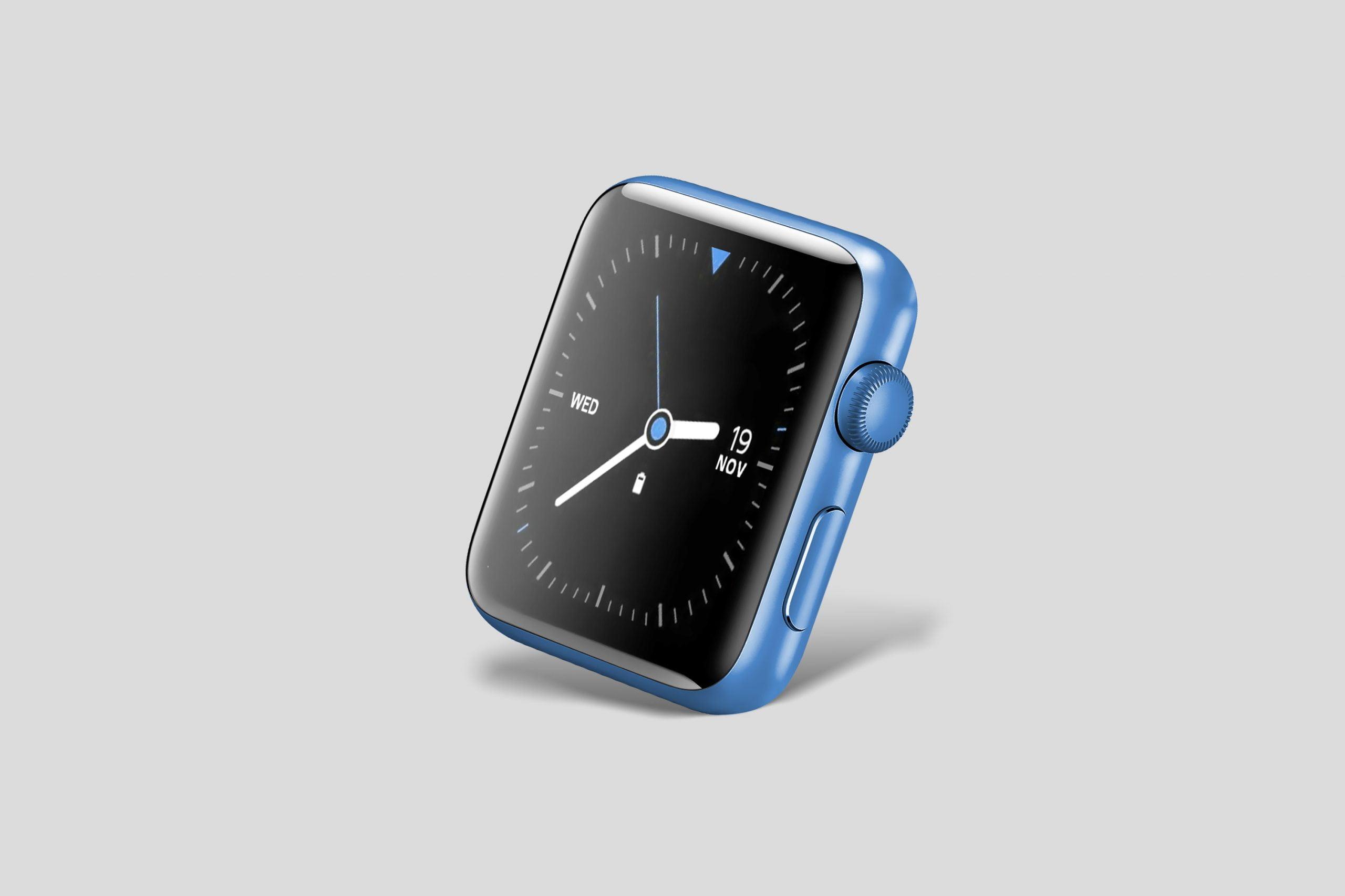 Smart Watch Face Mockup PSD