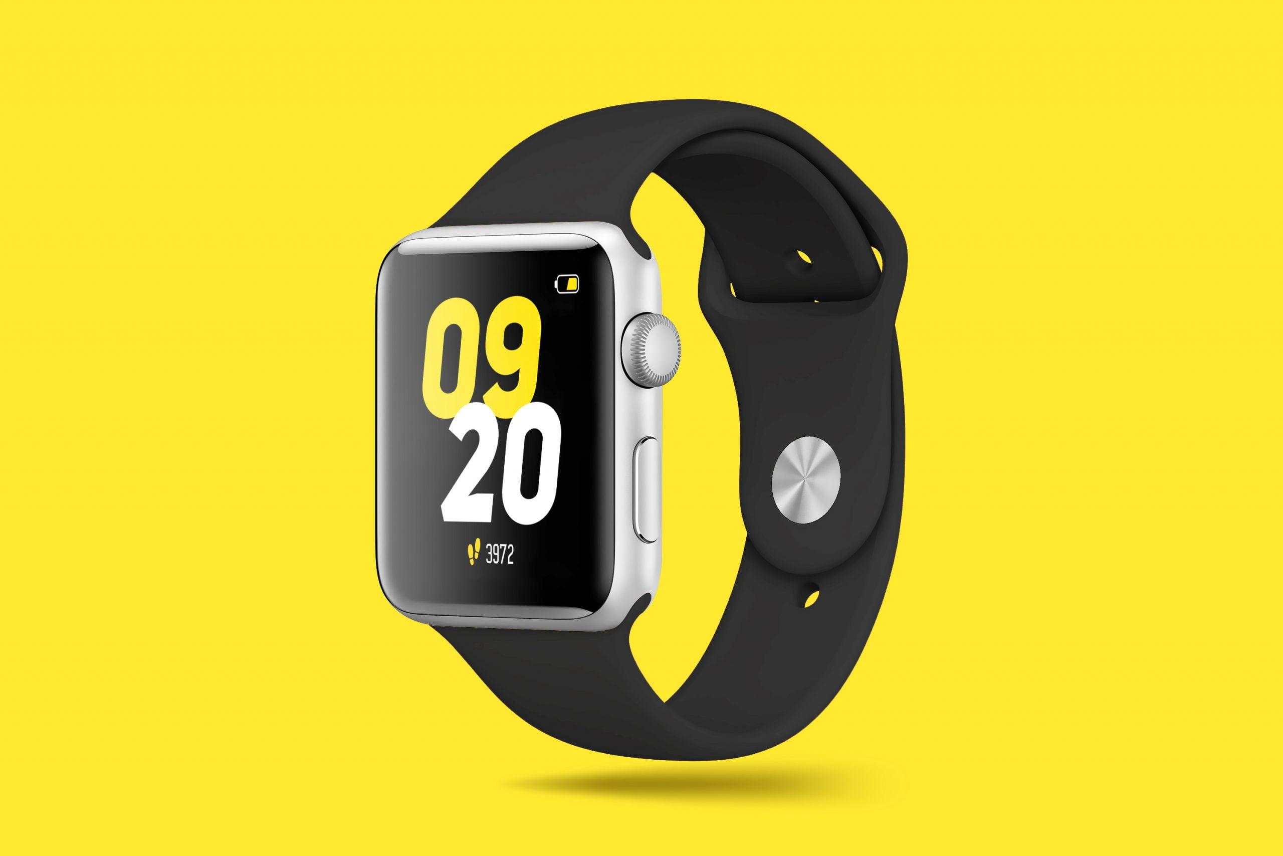 Smart Watch Mockup Design 1