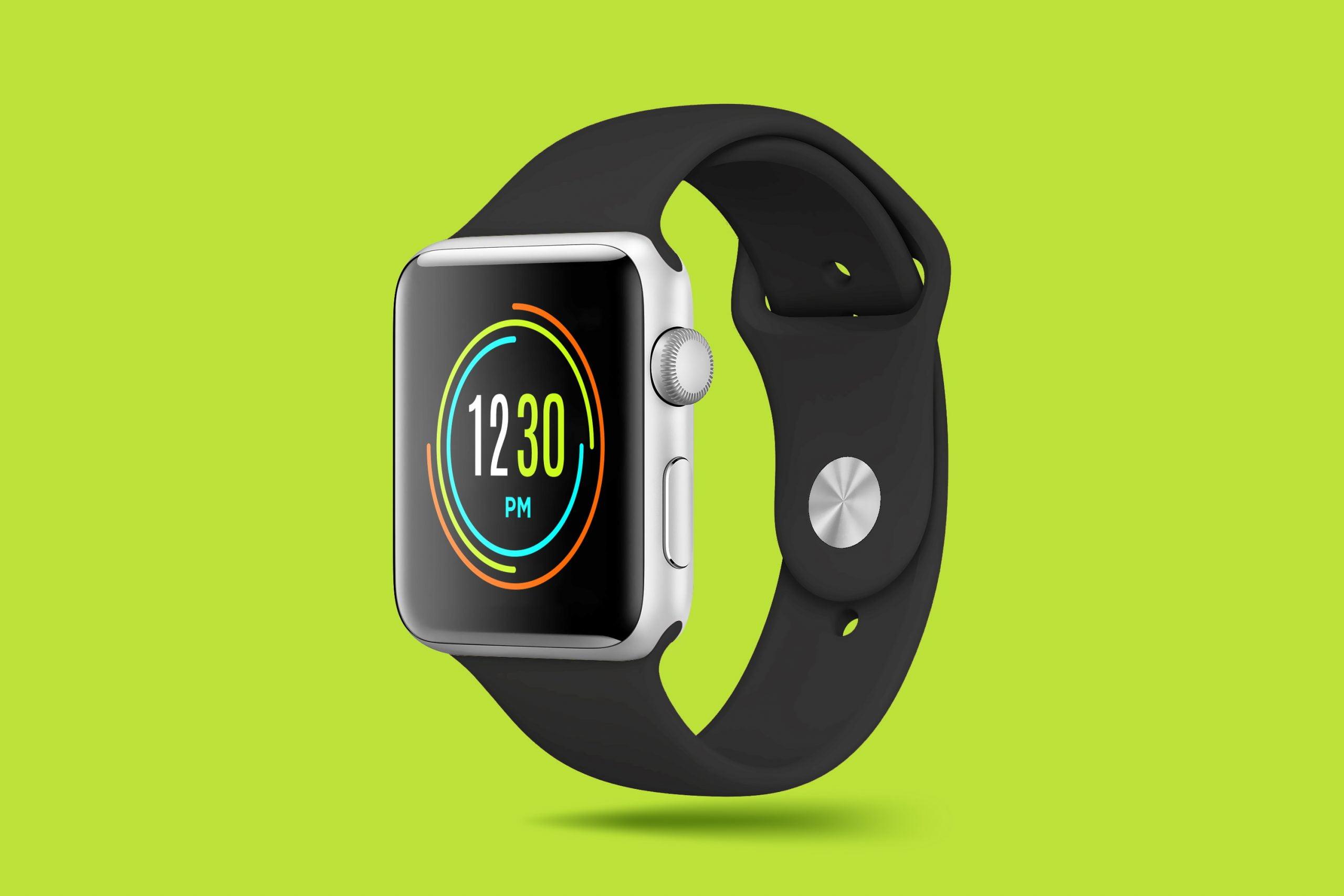 Smart Watch Mockup Design 5