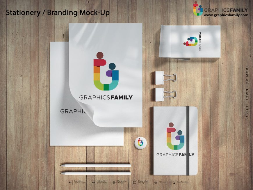 Stationery Branding Mock-Up