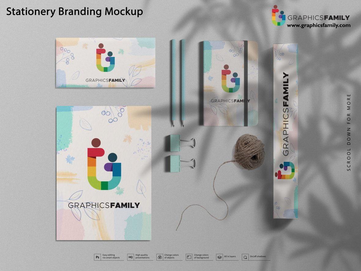 Stationery Mockup for Professional Branding