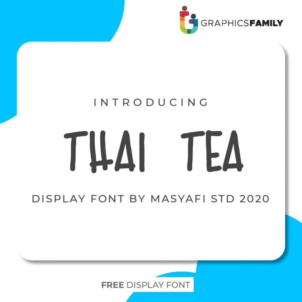 Thai Tea Free Font