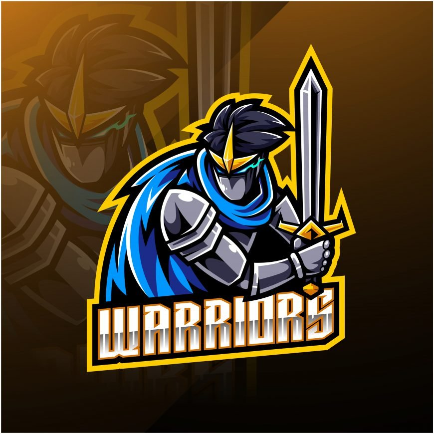 Warriors Esports Gaming Clan Mascot Logo