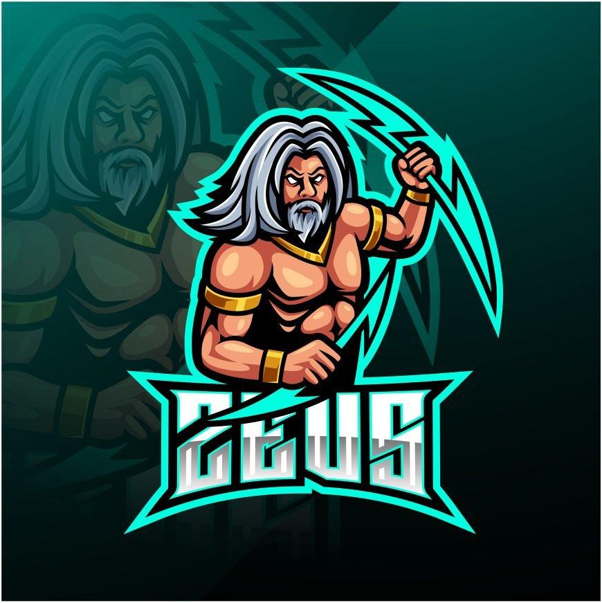 Zeus Esports Mascot Logo