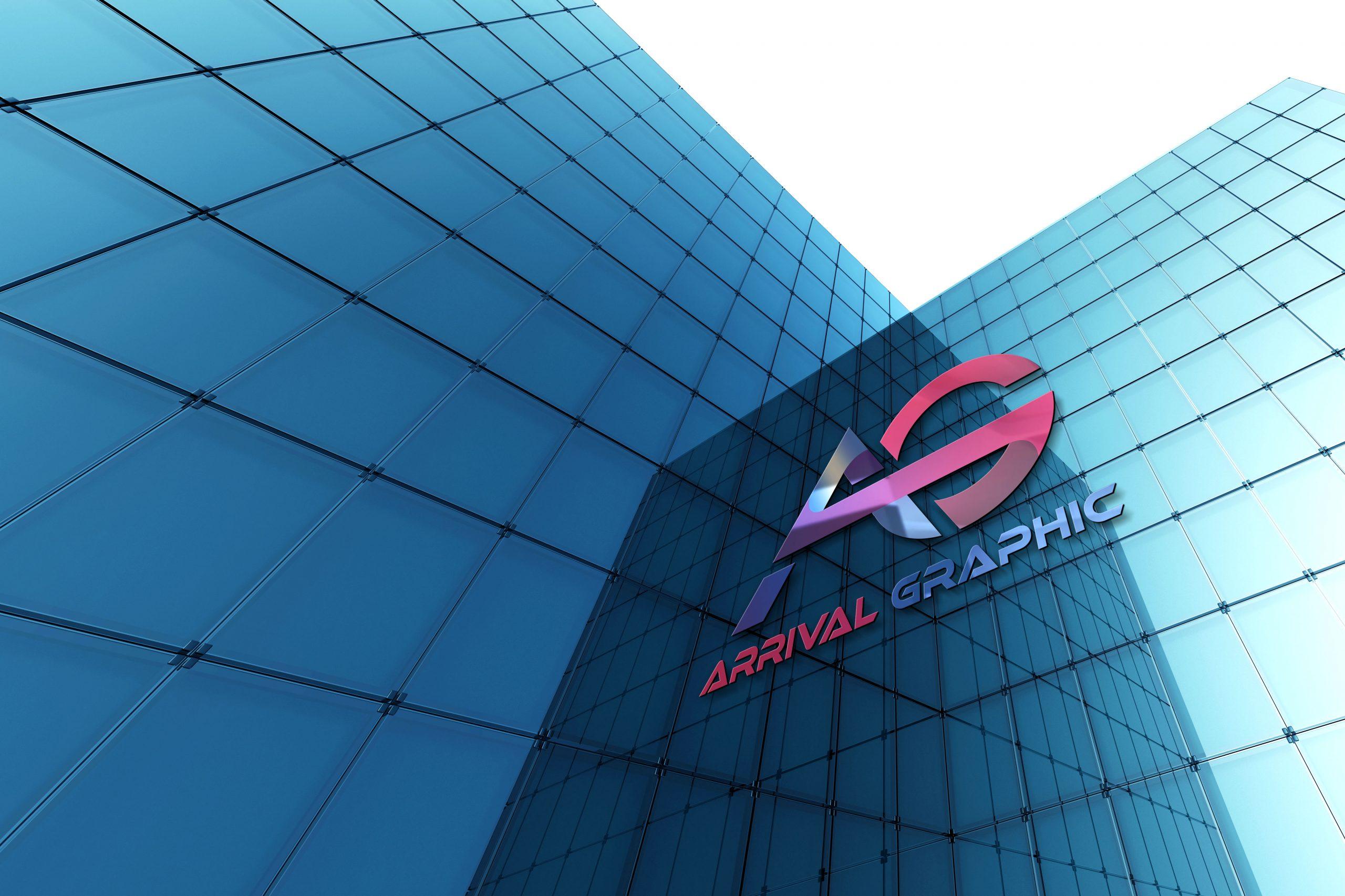 AG Letters Logo Design Free Download