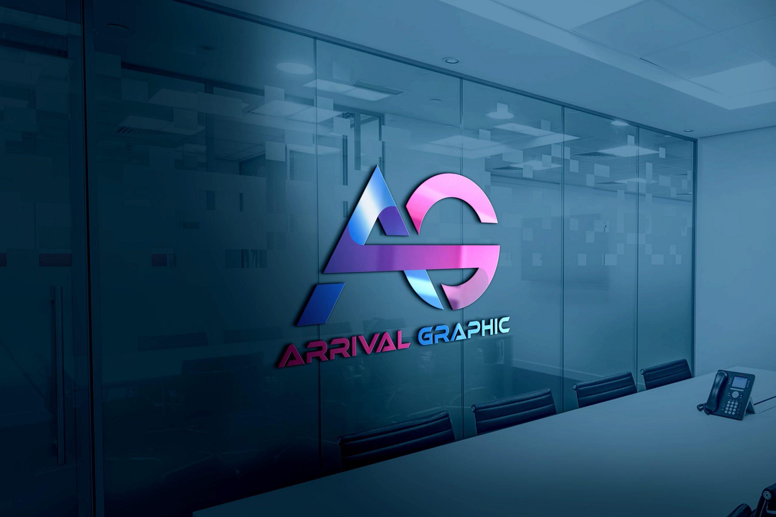 AG Letters Logo Design