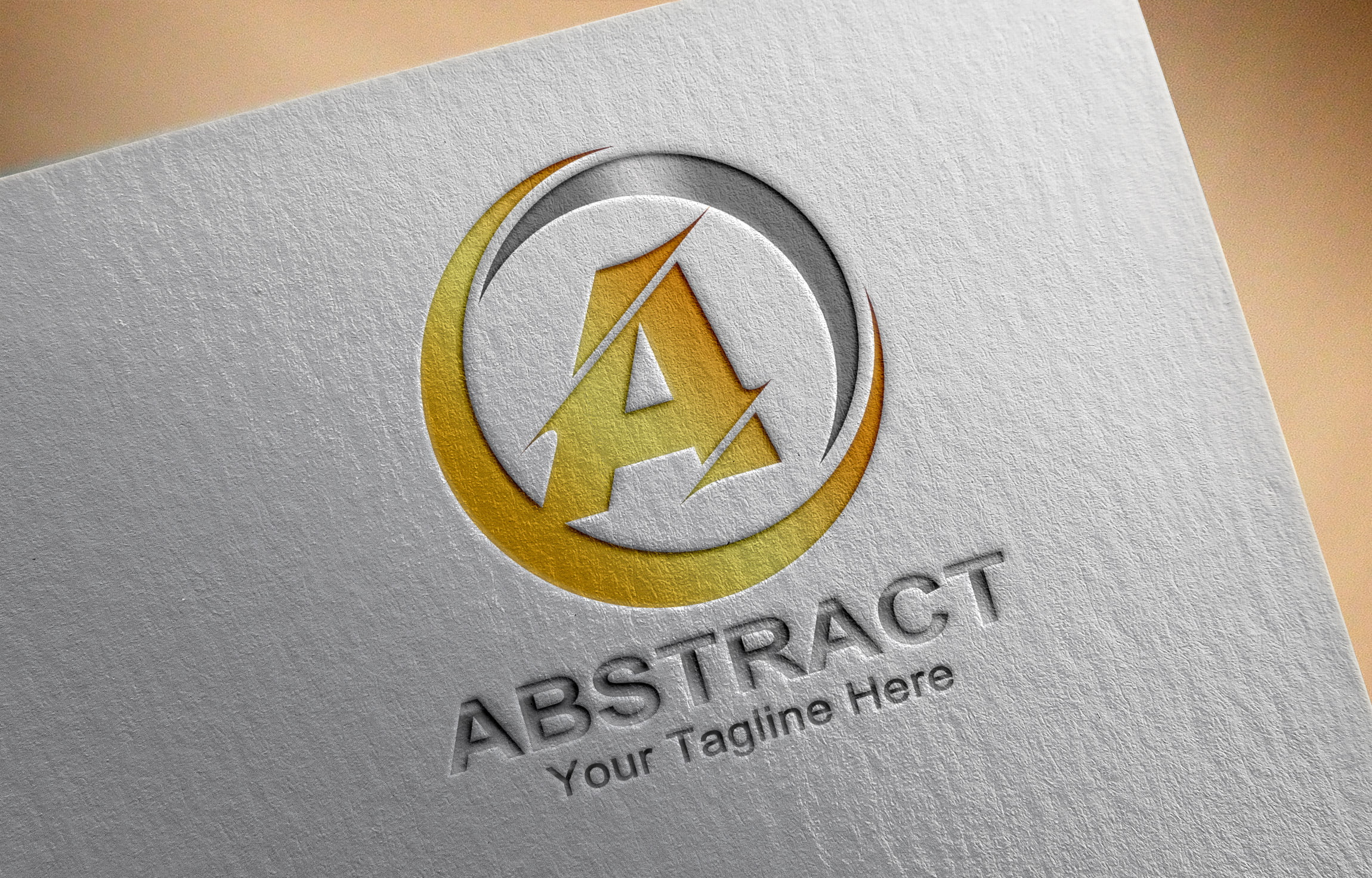 Abstract Letter A Logo Template Download