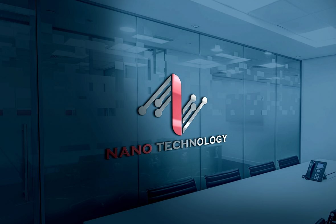 Abstract Technology Logo Design Free PSD