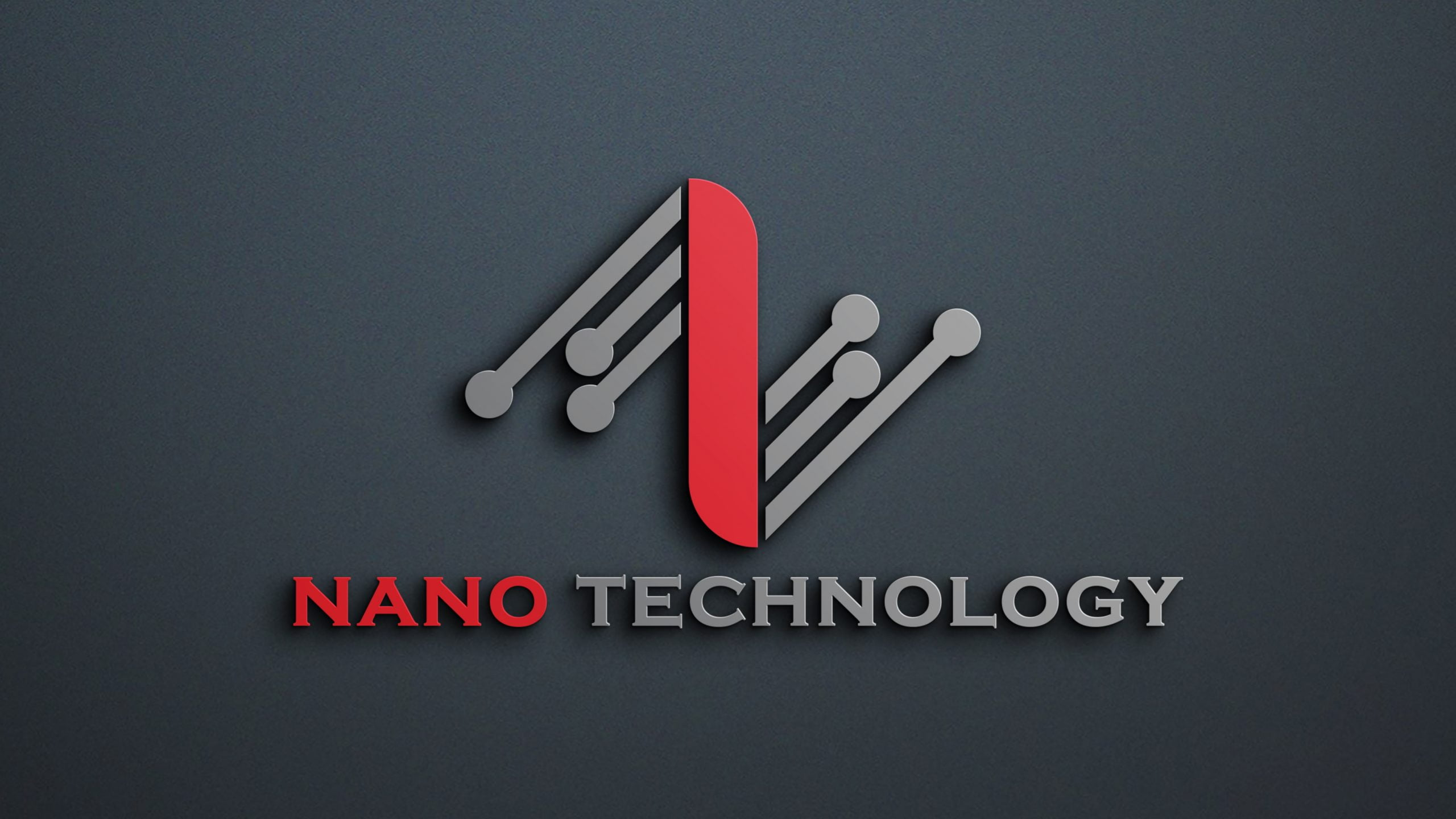 Abstract Technology Logo Design Free