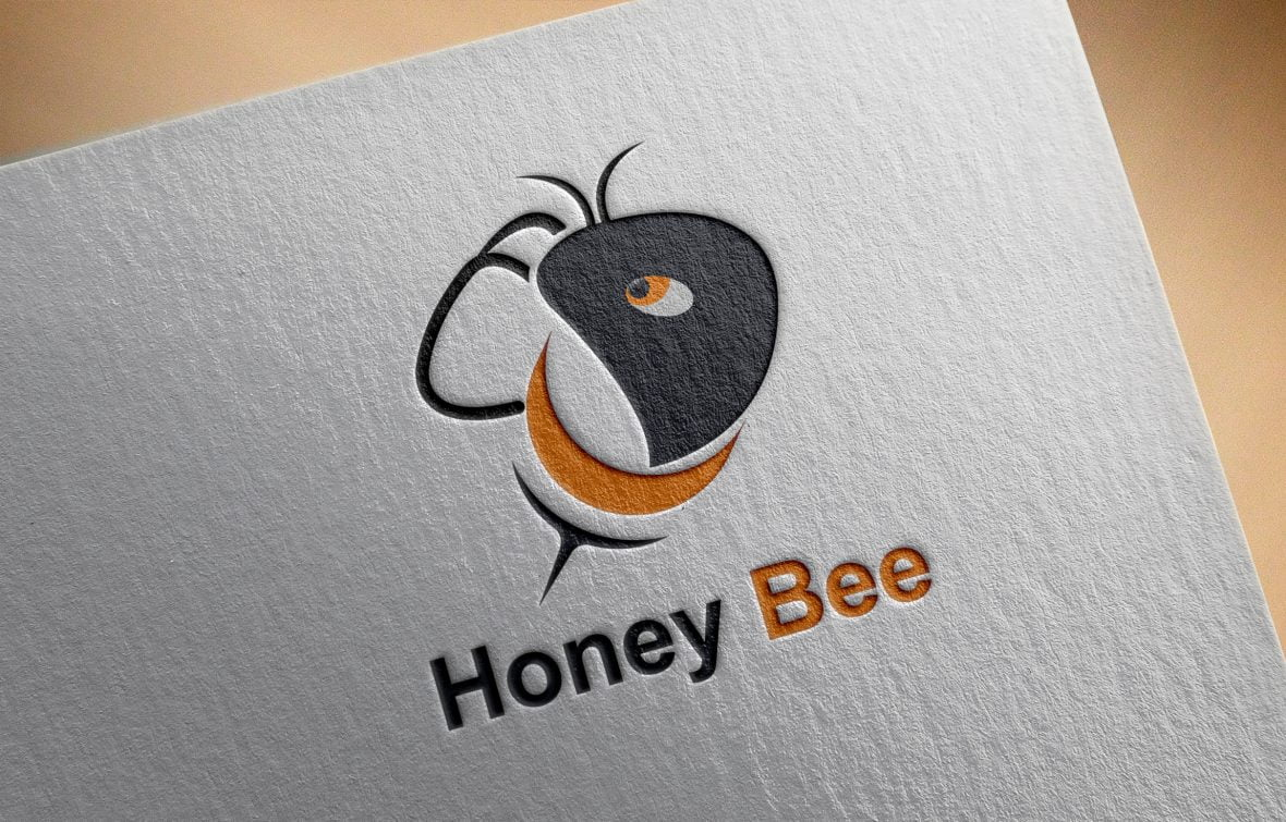 Bee Logo Template Design