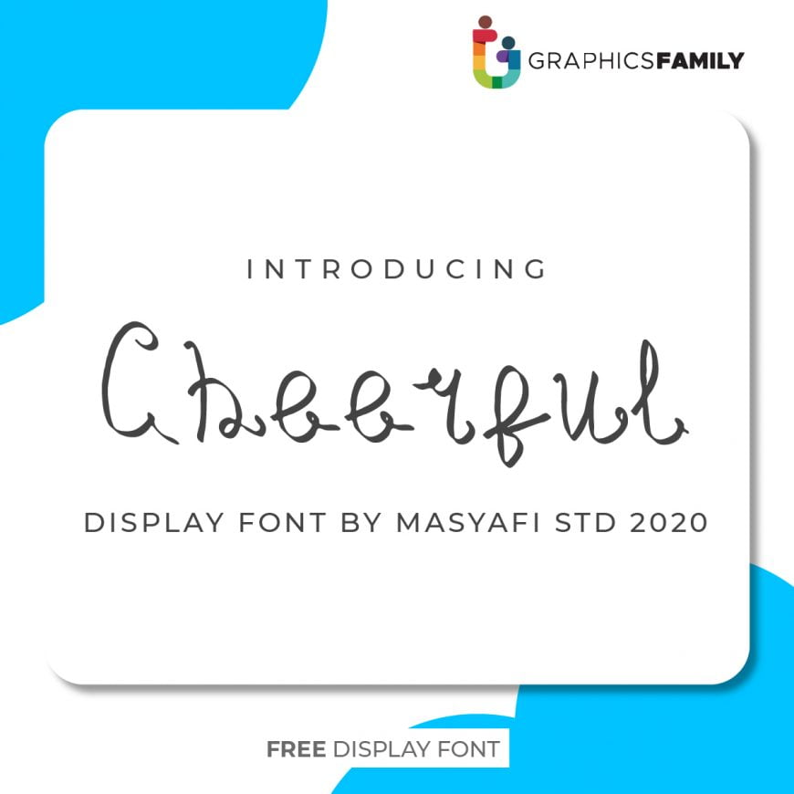 CHEERFUL YEAR FONT