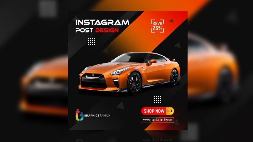 Car Automotive Social Media Instagram Banner