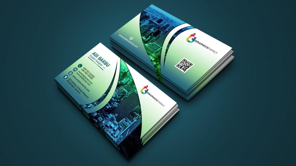 Creative Elegant Business Card Design