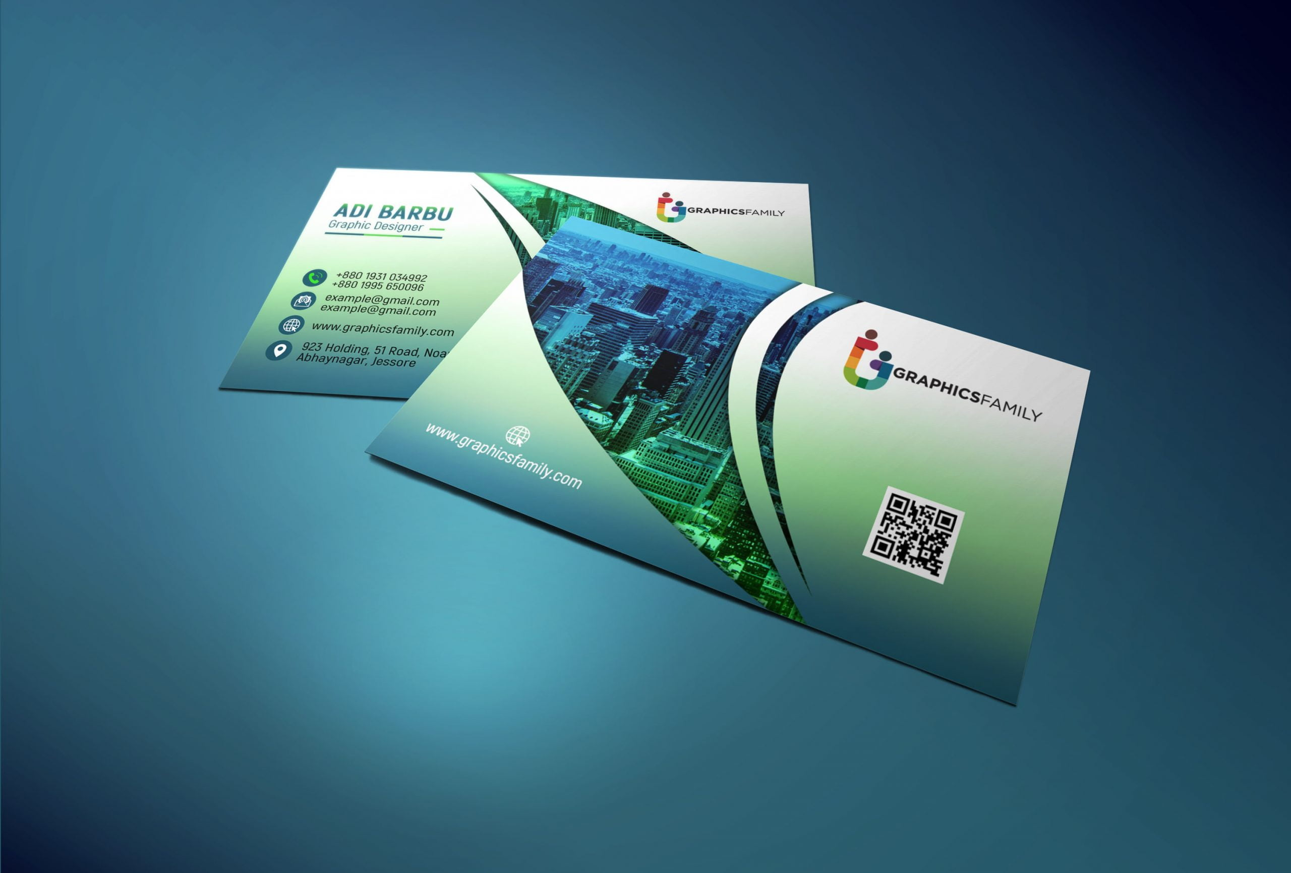 Creative Elegant Business Card Design Download