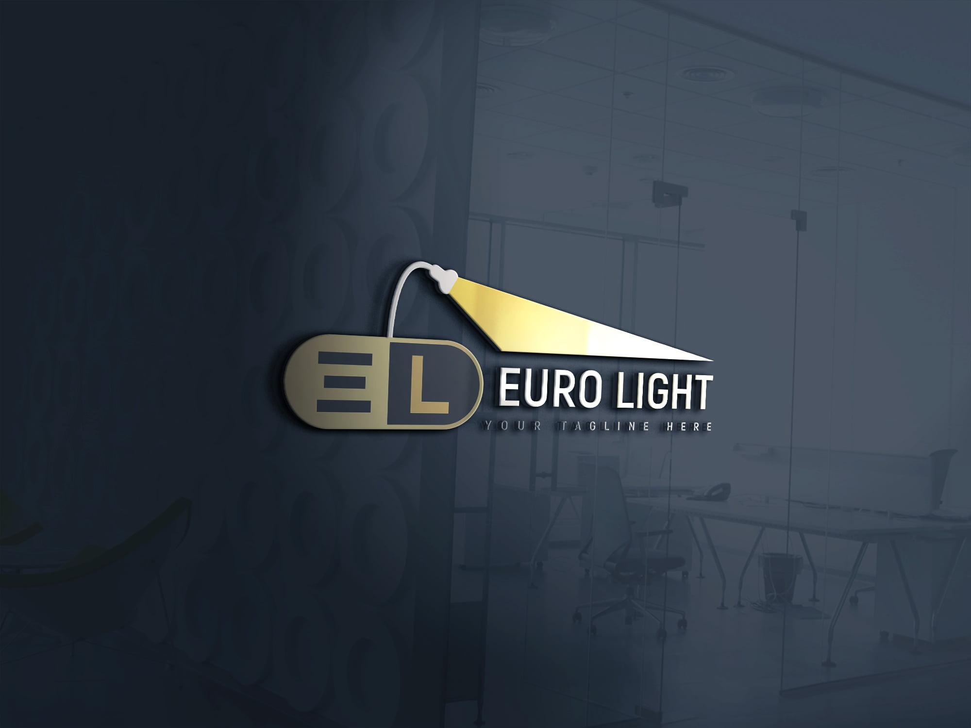 Creative Lights Logo Design PSD Download
