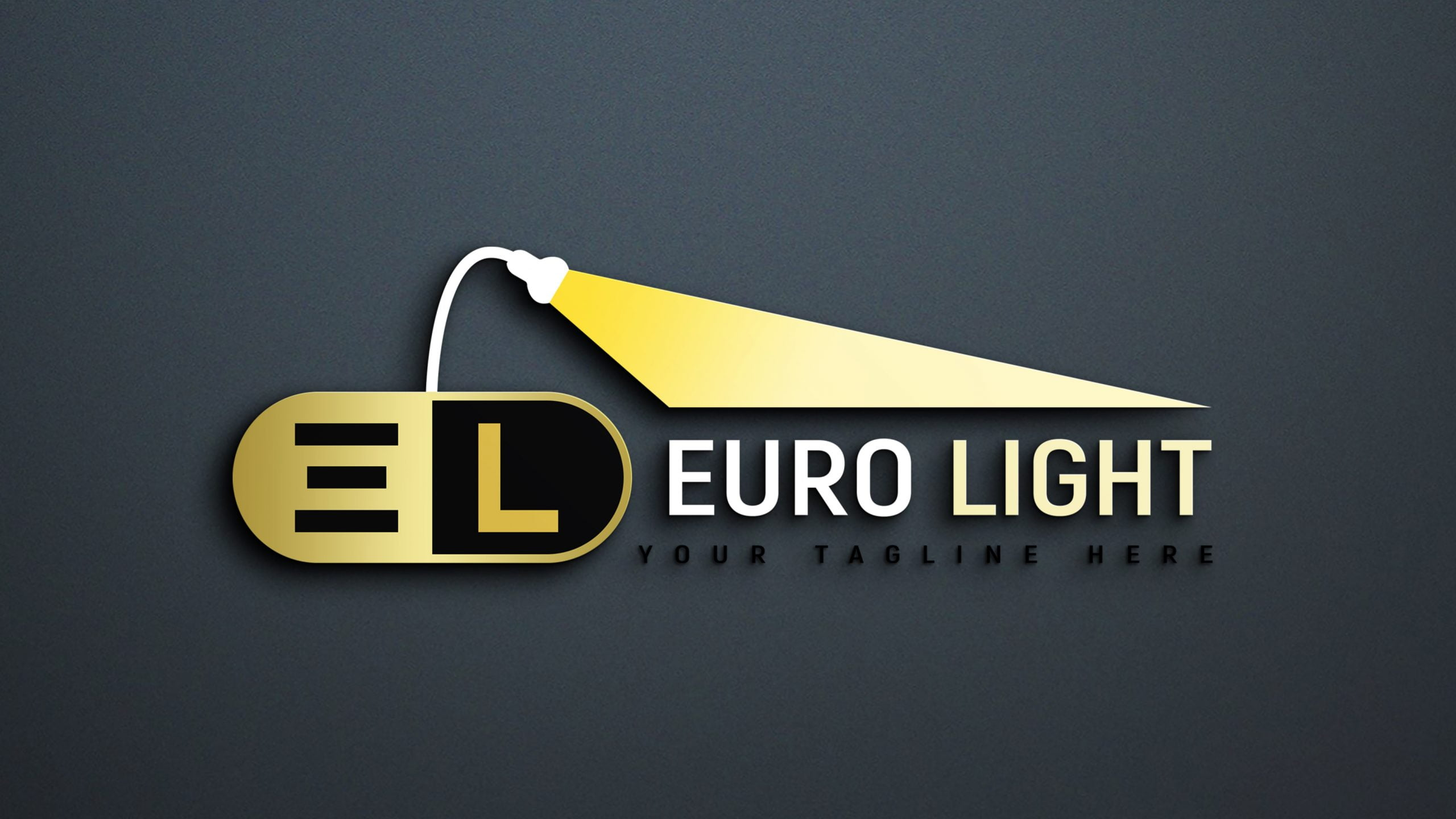 Creative Lights Logo Design PSD
