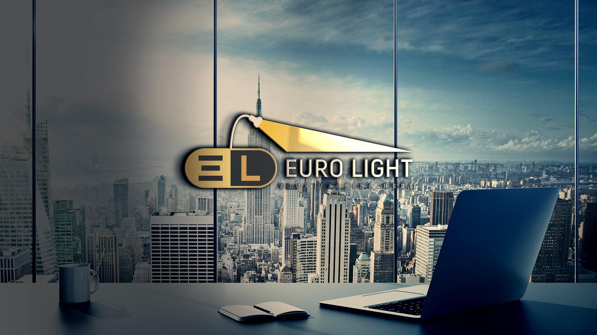 Download Creative Lights Logo Design PSD