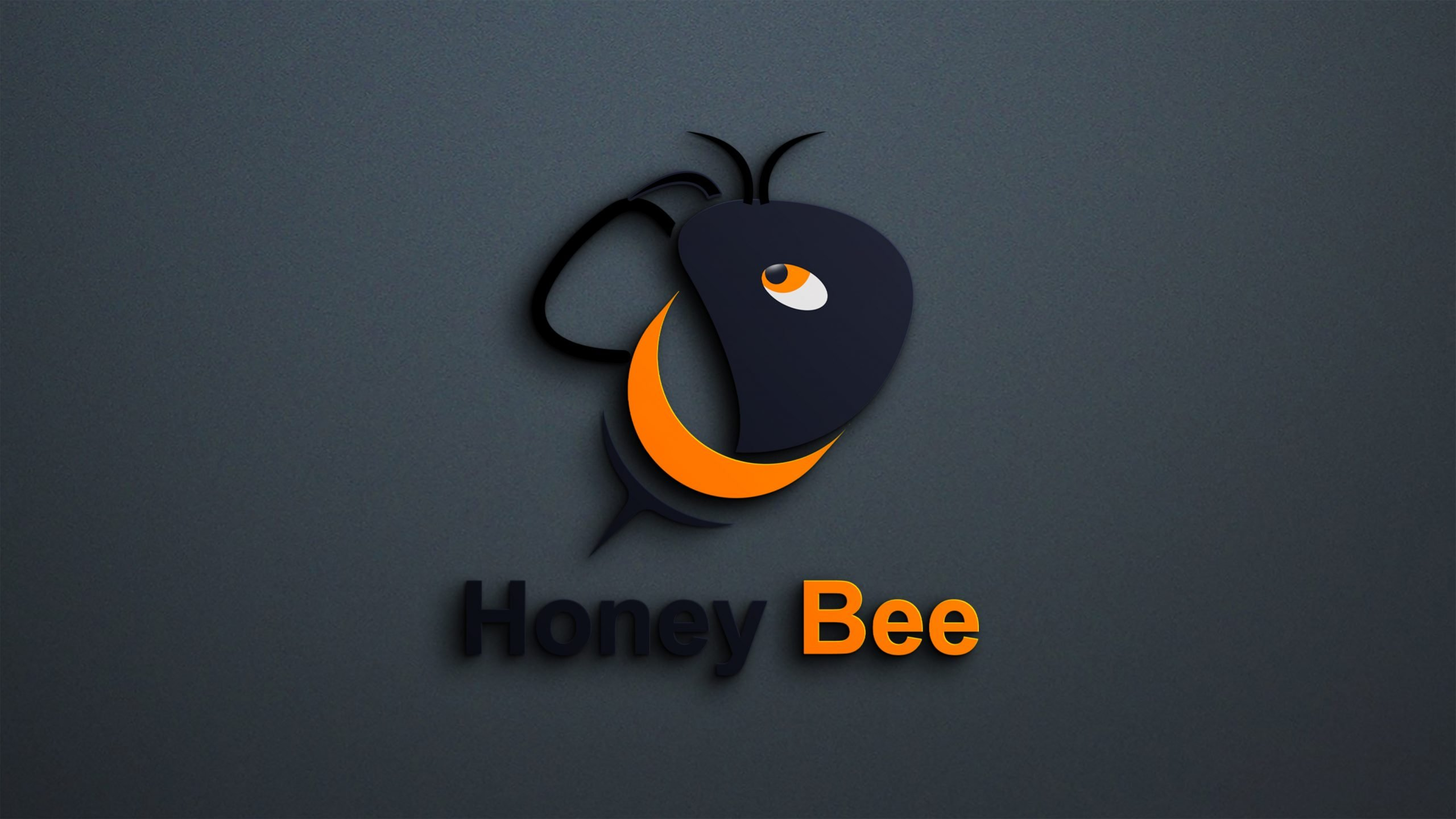 Free Bee Logo Template Design