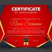 Free Certificate of achievement template