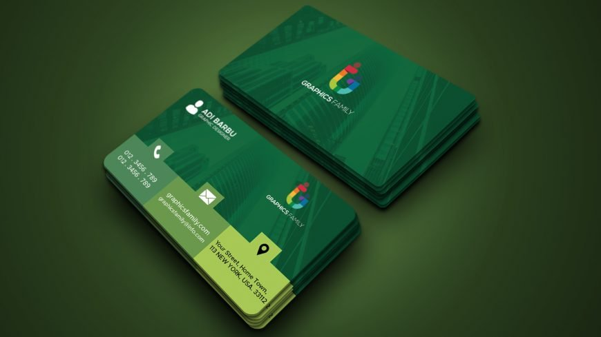 Free Corporate Card Template for Graphic Designer