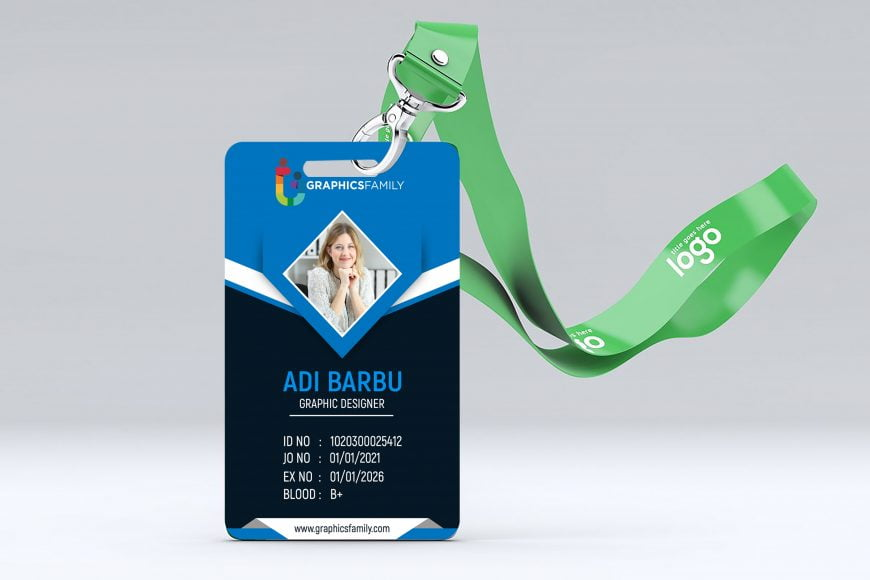 Free Corporate Id Card Design Template