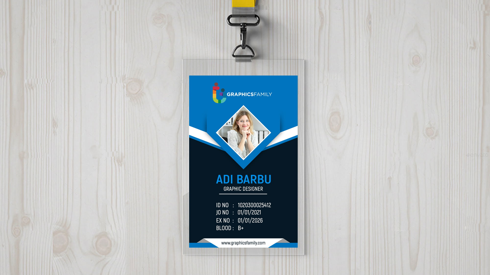 Free Corporate Id Card Design Template Download