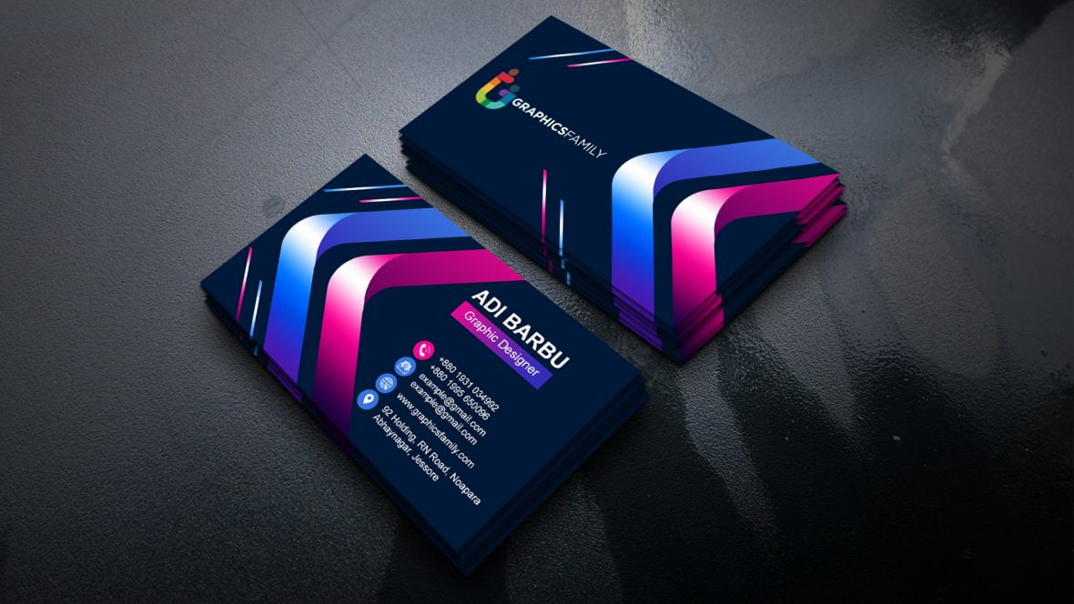 Free Creative Colorful Business Card Design