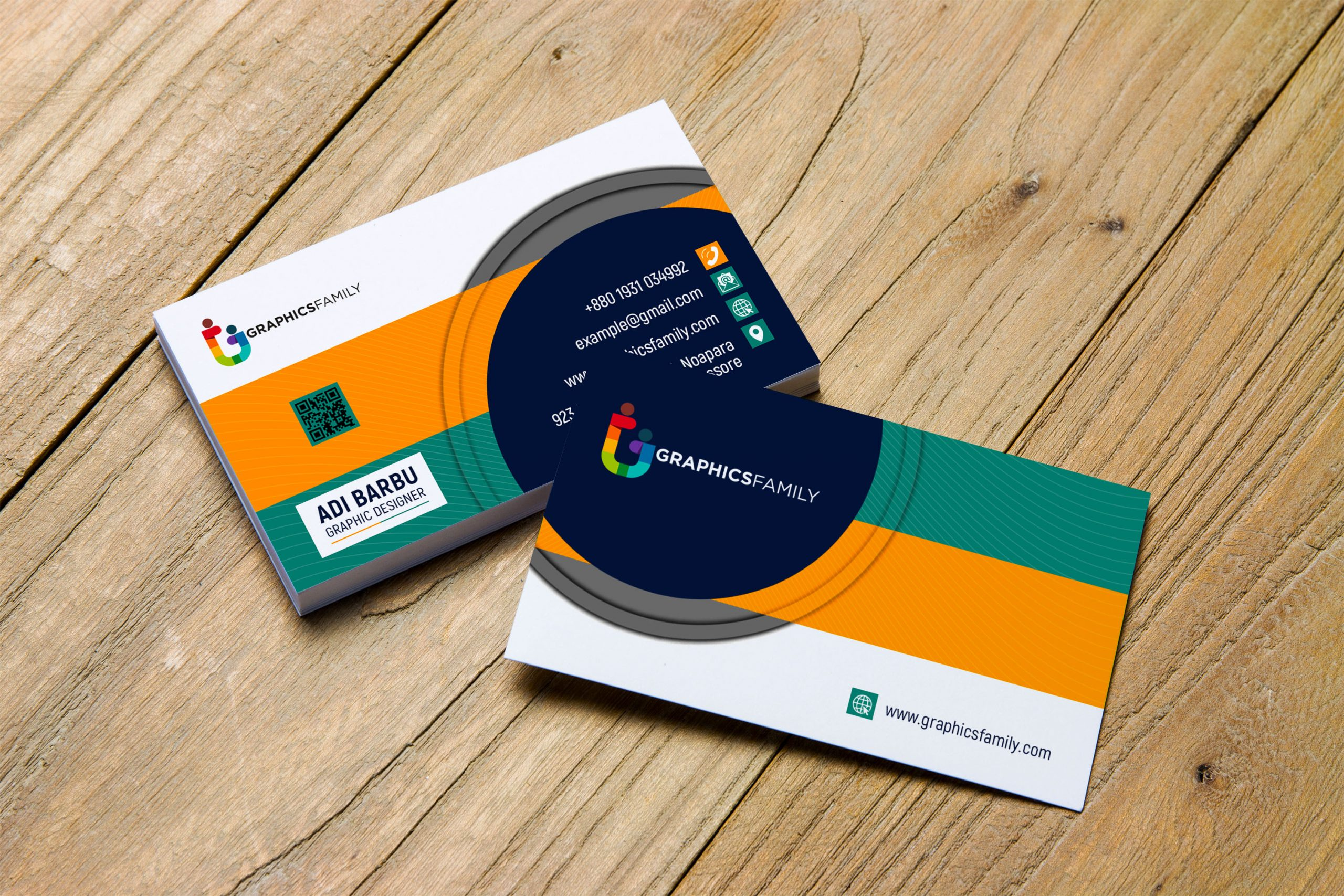 Free Download Modern Clean Business Card Template