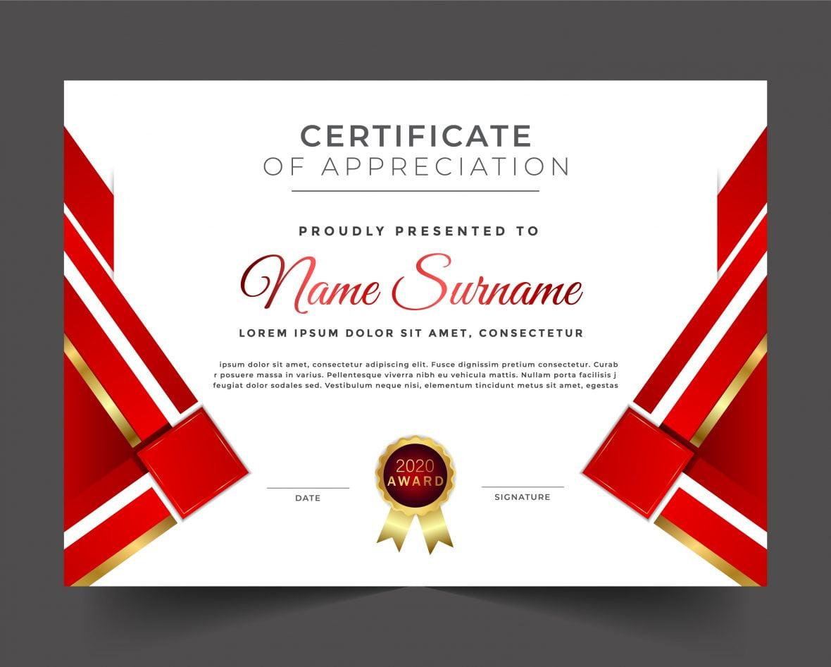 Free Elegant Certificate Template
