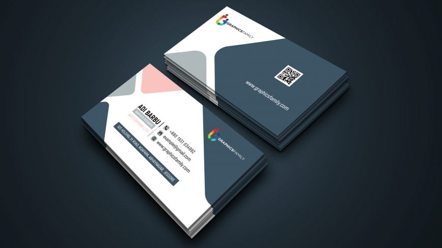 Free Minimal Modern Business Card Design